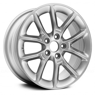 Replace X Spoke All Painted Sparkle Silver Alloy Factory Wheel