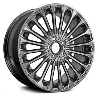 "Replace® - 18"" 20 Spokes Polished and Charcoal Metallic Factory Alloy Wheel"