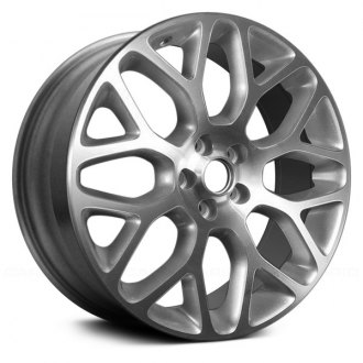 "Replace® - 19"" Remanufactured 8 Y Spokes Machined and Sparkle Silver Factory Alloy Wheel"