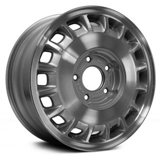 "Replace® - 15"" Remanufactured 16 Slots Medium Silver Sparkle Factory Alloy Wheel"