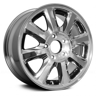 "Replace® - 16"" Remanufactured 8 Spokes Chrome Factory Alloy Wheel"