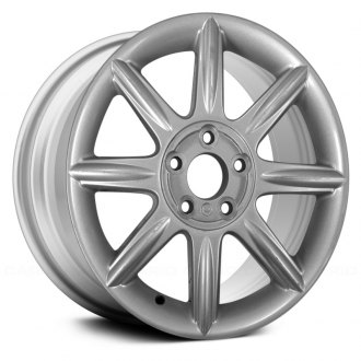 "Replace® - 17"" Remanufactured 8 Spokes Silver Factory Alloy Wheel"
