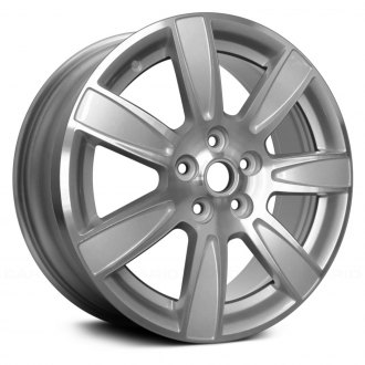 "Replace® - 18"" 7 Spokes Machined and Bright Silver Metallic Factory Alloy Wheel"