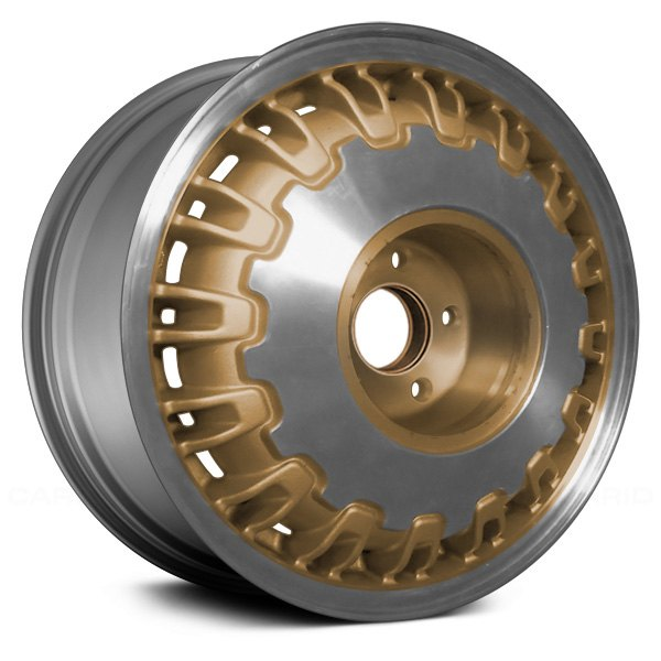 "Replace® - 16"" Remanufactured 32 Ribs Gold Factory Alloy Wheel"