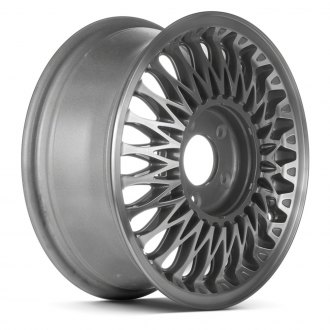 "Replace® - 15"" Remanufactured 24 Spokes Charcoal Factory Alloy Wheel"