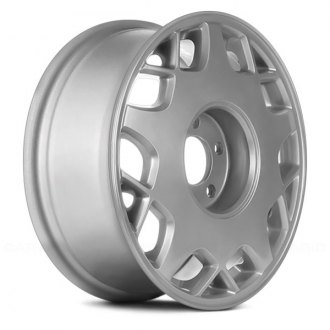 "Replace® - 16"" Remanufactured Web Design Chrome Factory Alloy Wheel"