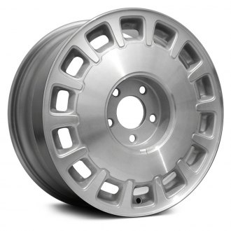 "Replace® - 16"" Remanufactured 14 Spokes Machined and Silver Factory Alloy Wheel"