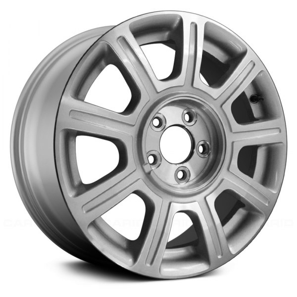 "Replace® - 17"" Remanufactured 9 Spokes Machined and Silver Factory Alloy Wheel"