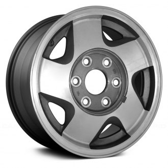 Replace® - 16x7 5-Spoke Charcoal Gray Alloy Factory Wheel (Remanufactured)