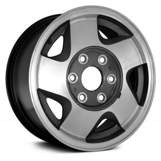 Replace® - 16x7 5-Spoke Black Alloy Factory Wheel (Remanufactured)