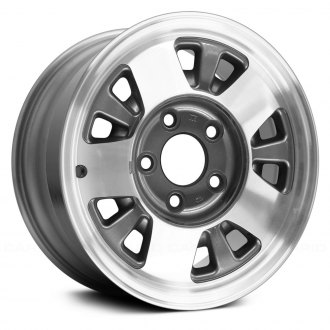 Replace® - 15x7 10-Slot Charcoal Alloy Factory Wheel (Remanufactured)