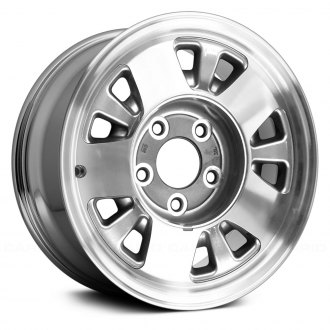 Replace® - 15x7 10-Slot Chrome Alloy Factory Wheel (Remanufactured)