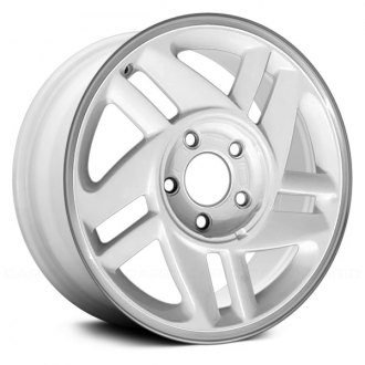 "Replace® - 16"" Remanufactured 10 Spokes White Factory Alloy Wheel"