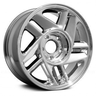 "Replace® - 16"" Remanufactured 10 Spokes Chrome Factory Alloy Wheel"