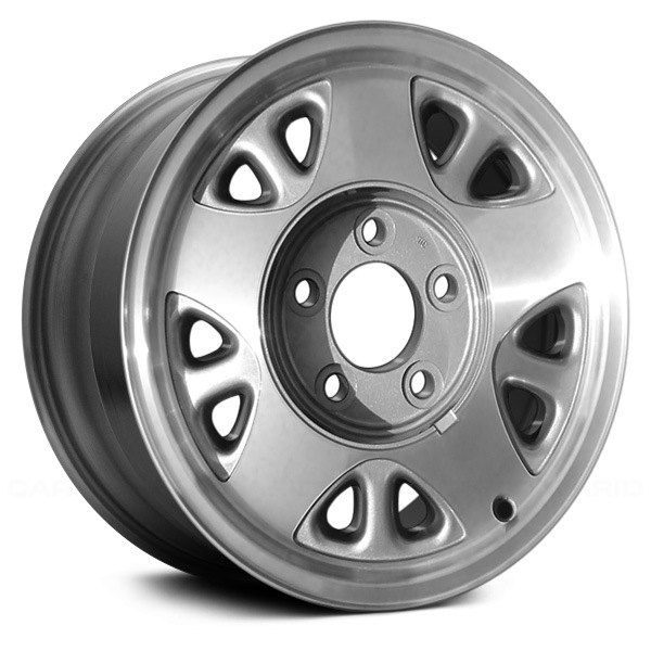 "Replace® - 15"" Remanufactured 5 Spokes Machined with Charcoal Factory Alloy Wheel"