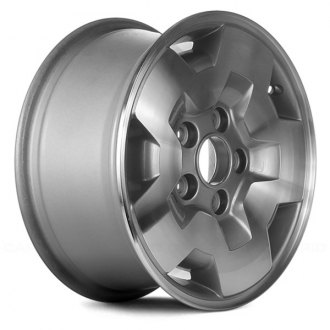 "Replace® - 15"" Remanufactured 5 Slots Silver Factory Alloy Wheel"