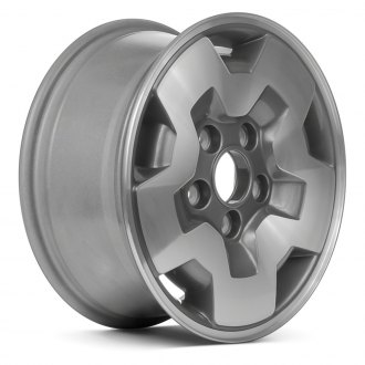 "Replace® - 15"" Remanufactured 5 Slots Charcoal Gray Factory Alloy Wheel"
