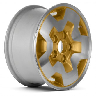 "Replace® - 15"" Remanufactured 5 Slots Gold Factory Alloy Wheel"