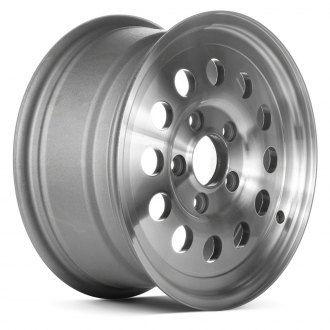 "Replace® - 15"" Remanufactured 12 Holes As Cast Machined Factory Alloy Wheel"