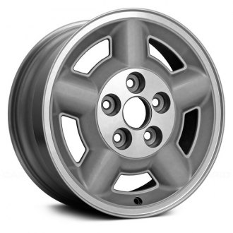 "Replace® - 15"" Remanufactured 5 Spokes Chrome Factory Alloy Wheel"