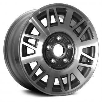 "Replace® - 15"" Remanufactured Web Design Charcoal Factory Alloy Wheel"