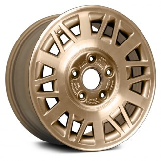 "Replace® - 15"" Remanufactured Web Design Gold Factory Alloy Wheel"