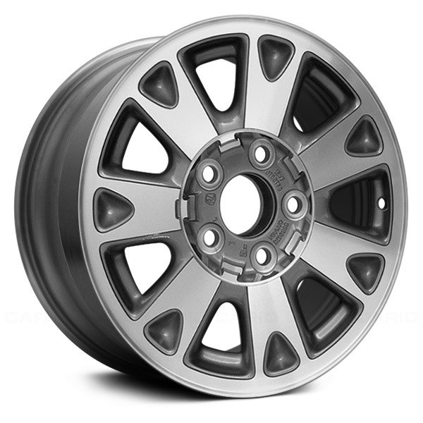 "Replace® - 15"" Remanufactured 7 Spokes Bright Polished Factory Alloy Wheel"