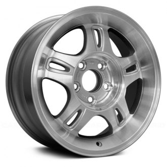 "Replace® - 16"" Remanufactured 10 Spokes Silver Factory Alloy Wheel"