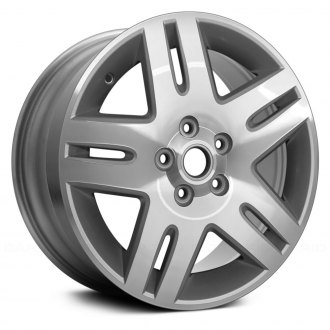 "Replace® - 17"" 10 Spokes Machined and Silver Factory Alloy Wheel"