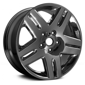 "Replace® - 17"" Remanufactured 10 Spokes Dark PVD Chrome Factory Alloy Wheel"