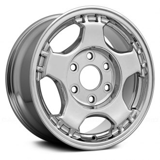 "Replace® - 16"" 5 Spokes Chrome Factory Alloy Wheel"