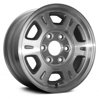 "Replace® - 16"" Remanufactured 6 Flat Spokes Chrome Factory Alloy Wheel"