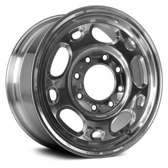 "Replace® - 16"" 10 Holes Bright Polished Factory Alloy Wheel"