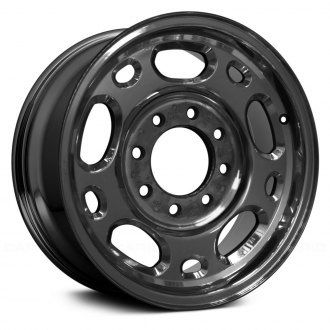 "Replace® - 16"" Remanufactured 10 Holes Dark PVD Chrome Factory Alloy Wheel"