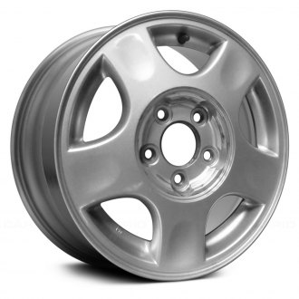 2001 chevy malibu replacement factory wheels rims carid replace 15 remanufactured 5 spokes sparkle silver factory alloy wheel publicscrutiny Image collections
