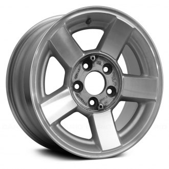 Replace® - 16x7 5-Spoke Medium Silver Sparkle Alloy Factory Wheel (Remanufactured)