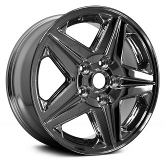 "Replace® - 16"" Remanufactured 5 Spokes Chrome Factory Alloy Wheel"