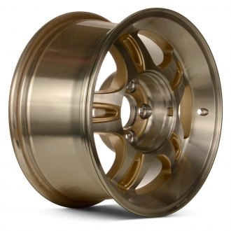 "Replace® - 16"" Remanufactured 5 Double Spokes Gold Factory Alloy Wheel"