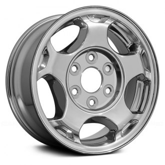 Replace® - 16x7 5-Spoke Chrome Alloy Factory Wheel (Remanufactured)