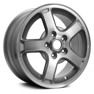 "Replace® - 16"" 5 Spokes Silver Factory Alloy Wheel"