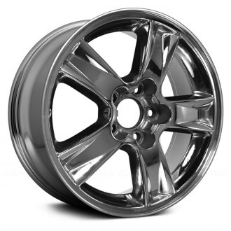2006 chevy malibu replacement factory wheels rims carid 2007 Chevy Malibu replace 16x6 5 5 spoke chrome alloy factory wheel remanufactured