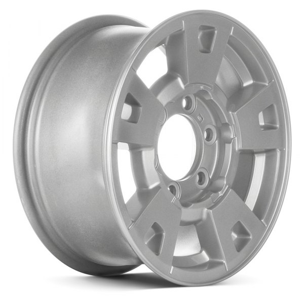 "Chevy Colorado Lug Pattern >> Replace® - Chevy Colorado 2004-2009 15"" Remanufactured 5 Spokes Factory Alloy Wheel"
