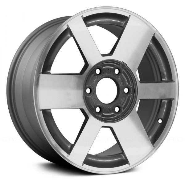 "Replace® - 17"" Remanufactured 6 Spokes Medium Gray Factory Alloy Wheel"