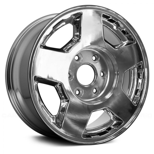 "Replace® - 17"" Remanufactured 5 Spokes Light PVD Chrome Factory Alloy Wheel"