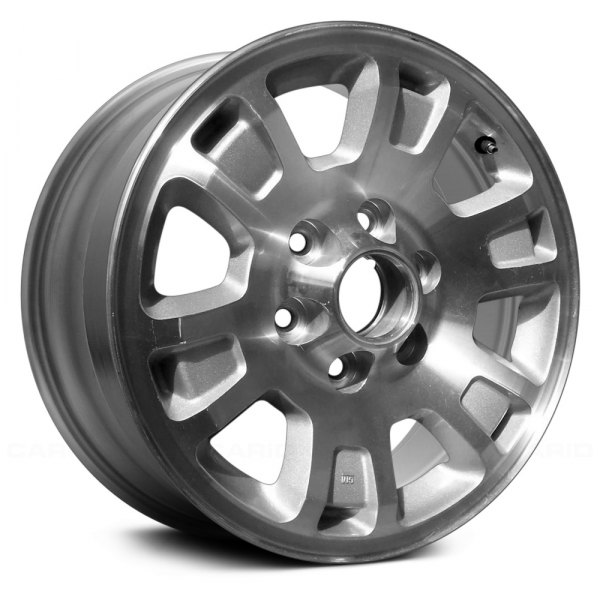 "Replace® - 17"" Remanufactured 6 Double Spokes Silver Factory Alloy Wheel"