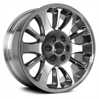 "Replace® - 20"" Remanufactured 12 Spokes Bright Polished Factory Alloy Wheel"