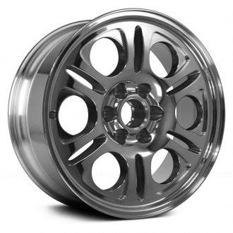 "Replace® - 20"" Remanufactured 6 Spokes Bright Polished Factory Alloy Wheel"