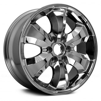 cadillac escalade replacement factory wheels rims carid 2013 Lincoln Navigator replace 20x8 5 6 spoke chrome alloy factory wheel remanufactured