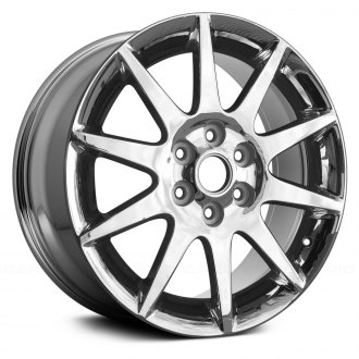 2011 buick enclave replacement factory wheels rims carid 2013 Buick Enclave Interior replace 19x7 5 10 spoke oe chrome alloy factory wheel remanufactured