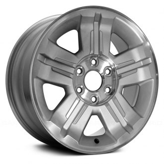 "Replace® - 18"" Replica 5 Spokes with Groove Machined and Silver Factory Alloy Wheel"
